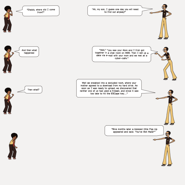 Funny tech comic